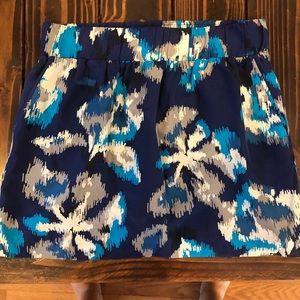 LOFT- NWT mini skirt elastic waist